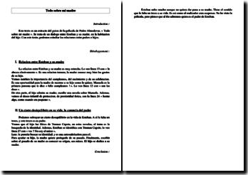 Pedro Almodovar, Todo sobre mi madre : fiche d'oral pour le bac