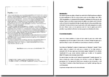 Rosa Montero, La vida desnuda, Papeles: comentario