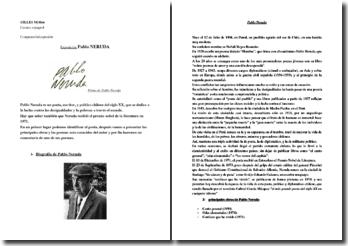 Pablo Neruda, su vida y su obra