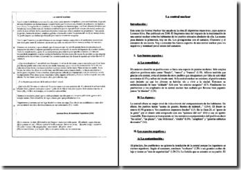 Lorenzo Silva, El alquimista impaciente, La central nuclear : comentario
