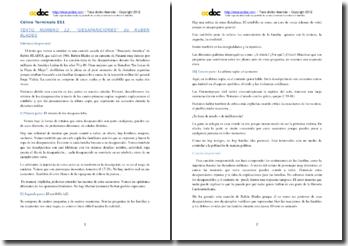 Rubén Blades, Desapariciones: comentario