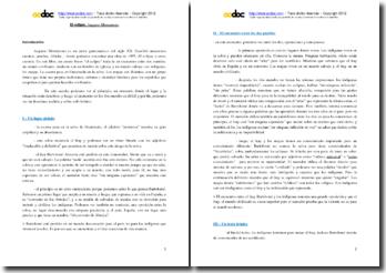 Augusto Monterroso, El eclipse: comentario