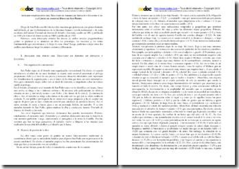 Análisis comparativo del Tractado de Amores de Arnalte y Lucenda y de Cárcel de Amor de Diego de San Pedro