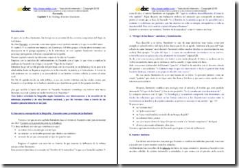 Domingo Faustino Sarmiento, Facundo, Capítulo V: Análisis