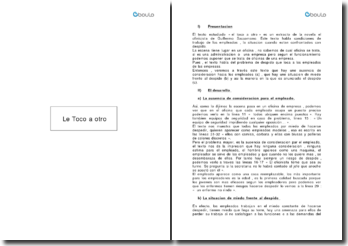 El ofinicista ; le Toco a otro - Guillermo Saccomano