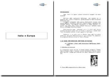 Italia e Europa