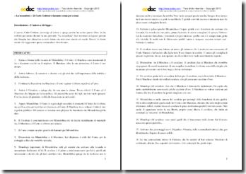 Carlo Goldoni, La locandiera : riassunto
