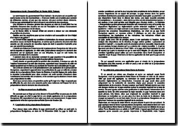 Commentaire d'arrêt du Conseil d'Etat du 24 février 2003 : la demande d'annulation de circulaire