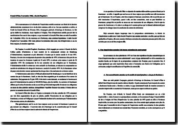 Conseil d'Etat, 5 novembre 1982, « Société Propétrol » : la distinction faite entre état d'imprévision et cas de force majeure, de manière opportune