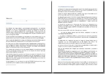 Journal d'observation d'un stage effectué au sein d'un service d'éducation spécialisé et de soins à domicile (SESSAD)