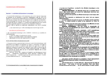 Le licenciement pour motif économique : définition et procédure