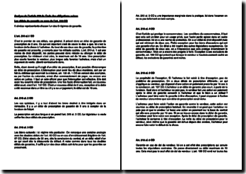 Les délais de garantie au sens de l'art. 210 Code des obligations suisse