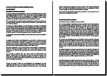 La vente aux enchères en droit des obligations suisse (Art. 229 à 236 CO)