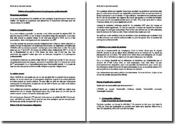 Critères d'assujettissement à la prévoyance professionnelle (Suisse)