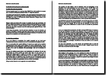 Droit de la sécurité sociale : Le domaine de la prévoyance professionnelle (Suisse)