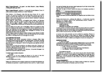 « La poste : une idée d'avenir », dans l'Histoire, n 395, janvier 2014, pp. 72-74 - Sylvie Crogiez-Pétrequin