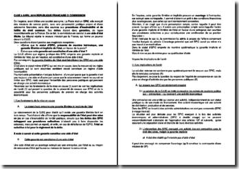 Commentaire d'arrêt de la CJUE du 3 avril 2014 : République française contre la Commission