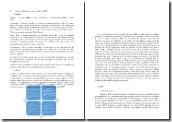 Analyse stratégique et concurrentielle de BMW