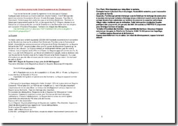 Les territoire ultramarins de l'Union Européenne et leur Développement : la Guyane