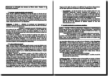 La philosophie des sciences au XXeme siècle, Chapitre III - Anouk Barberousse, Max Kistler, Pascal Ludwig : la connaissance incertaine