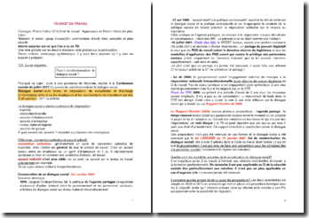 Correction de dix TD de droit du travail