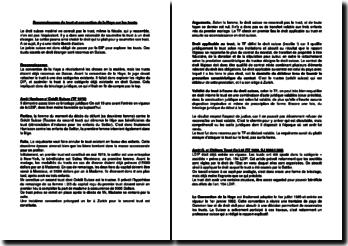 Reconnaissance du trust et convention de la Haye sur les trusts (droit suisse)