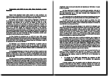 Commentaire d'arrêt de la CJUE du 28 mars 2000 : l'exception d'ordre public dans le conflit de juridictions