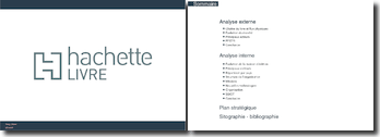 Analyse marketing pour Hachette Livre