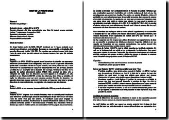 Droit de la preuve civile (cas pratiques)