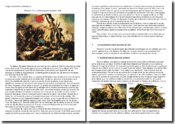 Delacroix (E.), La liberté guidant le peuple, 1830