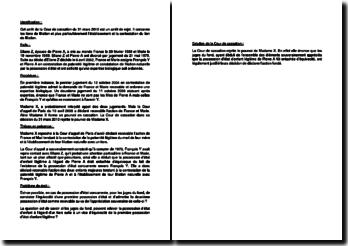 Fiche d'arrêt de la Cour de cassation du 31 mars 2010 : l'établissement et la contestation du lien de filiation