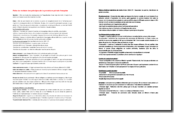 Fiche de révision des principes de la procédure pénale française