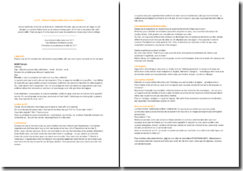 Le CV : élément indispensable pour une candidature