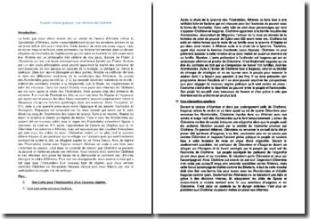 Les réformes de Clisthène dans la Constitution d'Athènes d'Aristote