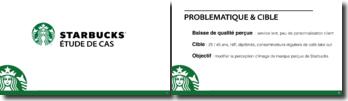 Etude de cas : création d'un discours publicitaire pour Starbucks