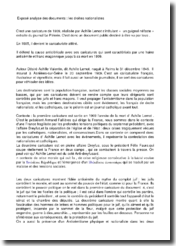 Analyse de documents issus de la droite nationaliste française au début du 20ème siècle