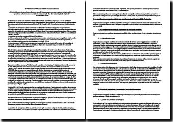Commentaire de l'article L.628-1 du Code de commerce