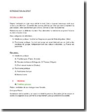 Introduction générale au droit : idéalisme et positivisme juridiques