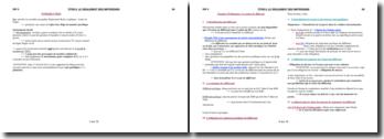 Le règlement des différends en droit international