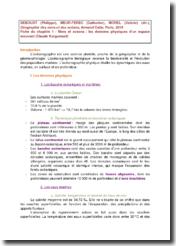Géographie des mers et des océans, chapitre 1 - Philippe Deboudt, Catherine Meur-Ferec, Valérie Morel