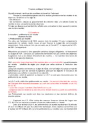 Les finances publiques de l'Etat français : principes et analyses
