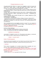 Les principes fondamentaux du procès en droit : sources et acteurs