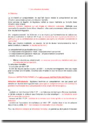 Droit pénal : les infractions formelles