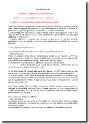 Droit administratif : excès de pouvoir, actes et contrats administratifs, régimes de responsabilité
