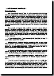Commentaire d'arrêt de la Cour de cassation du 13 janvier 1999 : violence et vice de consentement