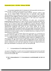 Conseil d'Etat, 7 juin 1950 - Arrêt Dehaene