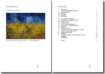 Van Gogh le suicidé de la société - Antonin Artaud : commentaire stylistique