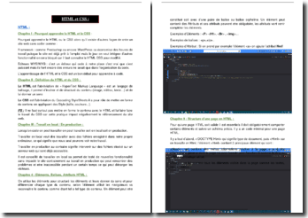 Apprendre à coder : l'apprentissage d'HTML et CSS