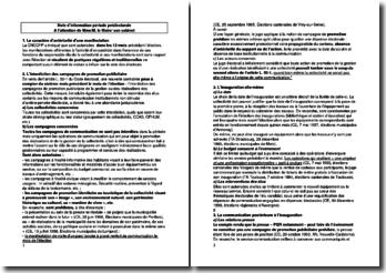 Note d'information en période préélectorale - A l'attention de Mme/M. le Maire/ son cabinet