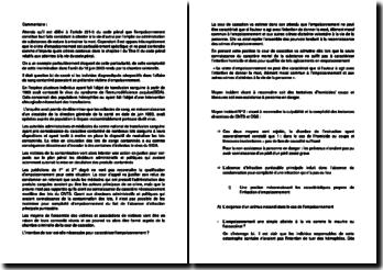 Commentaire de l'arrêt du 18 juin 2003 rendu par la chambre criminelle de la Cour de cassation